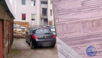 Parkirao ispred vlastite garaže, policija mu napisala kaznu za nepropisno parkiranje