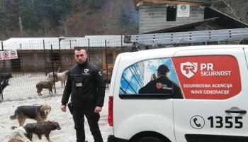 """PR Sigurnost donirala hranu za napuštene pse koji su zbrinuti u azilu """"Koprivnica""""."""
