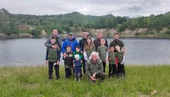 Na jezeru Zanesovići održana mala škola ribolova