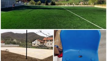 Akcija nabavke stolica za tribine stadiona u Grnici i Bistrici
