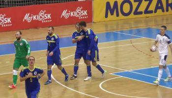 Futsal reprezentacija Bosne i Hercegovine osvarila je veliku pobjedu na gostovanju u Novom Sadu kod Srbije rezultatom 4:2