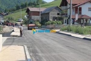 Završeno asfaltiranje dionice regionalng puta Novi Travnik - Gornji Vakuf - Uskoplje u Opari