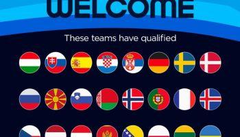 Ovo su svi učesnici Evropskog prvenstva 2022. godine