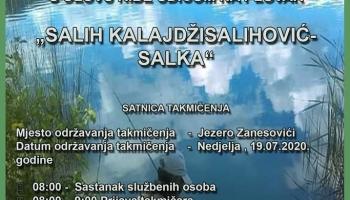 """Memorijalni turnir – ulov ribe udicom na plovak """"Salih Kalajdžisalihović – Salka"""""""