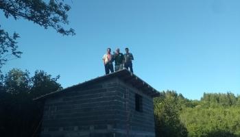 Lovačka sekcija Bojska gradi petu po redu lovačku kuću