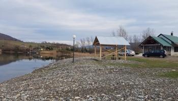Akcija čišćenja ribolovne kuće i obale jezera Zanesovići