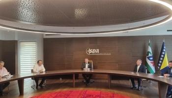 Delegacije SDA i SDP-a razgovarale o racionalizaciji Federacije BiH
