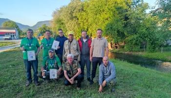 SRD Bugojno: Održano Općinsko takmičenje u disciplini fly fishing na rijeci Okašnici