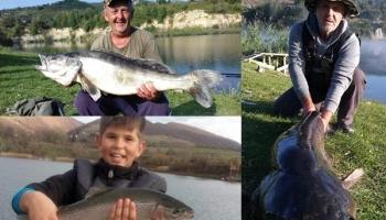 Jezero Zanesovići postaje elitna destinacija za ribare